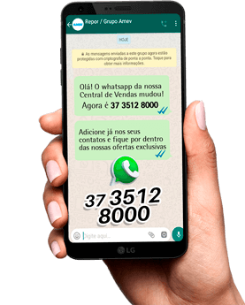 Whatsapp Repor: +55 37 3512-8000